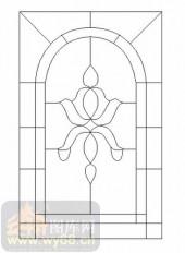 雕刻玻璃-12镶嵌-艺术花纹-00015