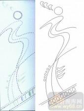 晶纹系列-斜绸带-00029