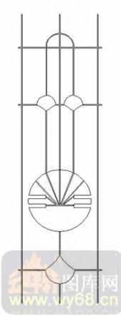 艺术玻璃图-11门窗组合-对称图形-00015