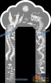 02-龙凤呈祥-047-雕刻灰度图