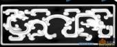 办公桌002-龙纹-044-办公桌浮雕灰度图