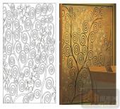 2011设计艺术玻璃刻绘-舞动人生-喷砂玻璃图库