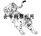 虎3-矢量图-虎背熊腰-119-路径矢量图