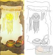 04肌理雕刻系列样图-陶罐-00232-装饰玻璃