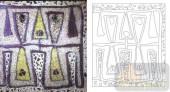 艺术玻璃-肌理雕刻系列1-神秘三角-00086