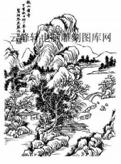 09年3月1日第一版画山水-矢量图-山长水阔-31-山水全图