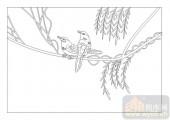 04花草禽鸟-飞鸟依人-00035-玻璃雕刻