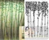 04肌理雕刻系列样图-竹林-00246-玻璃门