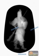 小佛-战神-035-雕刻灰度图