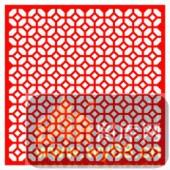 镂空装饰单式002-铜钱花纹-镂空装饰单式002-008-镂空雕刻模板下载