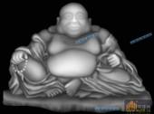 小佛-罗汉-010-玉雕浮雕图库