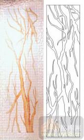 05肌理雕刻系列样图-树根-00074-雕刻玻璃图案