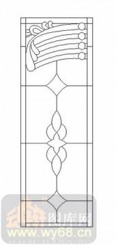 喷砂玻璃图库-12镶嵌-简约线条-00034