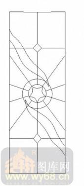 雕刻玻璃-12镶嵌-艺术图案-00063