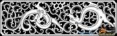 草龙-团龙纹-066-浮雕灰度图