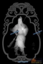 小佛-战神-036-雕刻灰度图