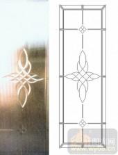艺术玻璃图库-浮雕贴片-花纹-00042