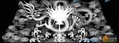 01-龙纹-059-浮雕灰度图