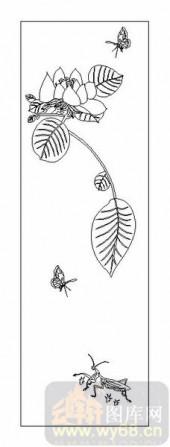 04花草禽鸟-莲花-00003-装饰玻璃