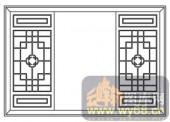 镂空装饰组合式-窗格-镂空装饰组合式-031-中式花纹