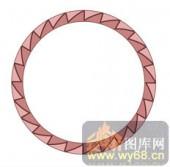 122种圆形边框矢量-齿轮圆环-120种圆形边框矢量-059-屏风