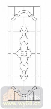 艺术玻璃图-12镶嵌-优美花纹-00026