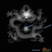 03-龙珠-081-龙凤浮雕灰度图