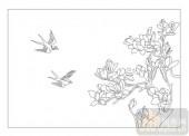 04花草禽鸟-龙威燕颔-00047-装饰玻璃