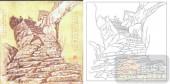 05肌理雕刻系列样图-拾阶而上-00150-艺术玻璃图库