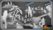 百子图002-童趣-11612(1)-雕刻灰度图