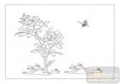 04花草禽鸟-花花绿绿-00074-雕刻玻璃图案