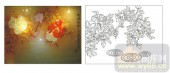 2011设计艺术玻璃刻绘-花开富贵1500-艺术玻璃
