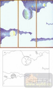 滑动门系列2-月亮云彩-00047