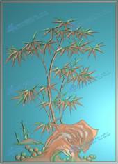 四季花(竹)