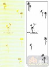 05肌理雕刻系列样图-菊花-00203-喷砂玻璃