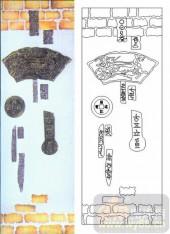 装饰玻璃-肌理雕刻系列1-古钱币-00087