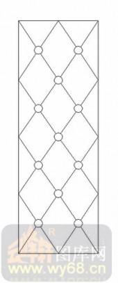 雕刻玻璃图案-12镶嵌-几何花纹-00031