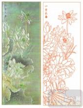 2011设计艺术玻璃刻绘-一尘不染-艺术玻璃