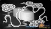 琴棋书画006-锦盒-007-琴棋书画灰度图案