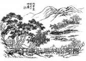 09年3月1日第一版画山水-矢量图-锦绣山河-24-山水矢量图