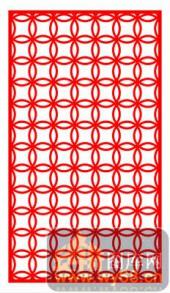 欧式镂空装饰001-环环生花-欧式镂空装饰001-007-镂空雕刻