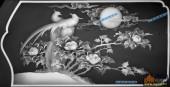 03-比翼双飞-030-花鸟雕刻灰度图