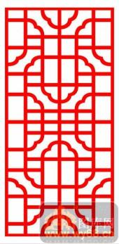 镂空装饰单式001-涩道-镂空装饰单式001-022-镂空雕花矢量图