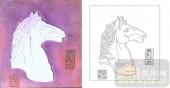 肌理雕刻系列1-马头-00003