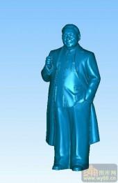 邓小平-立体雕刻图