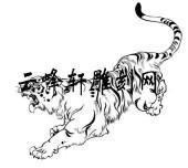 虎3-矢量图-如狼如虎-124-路径矢量图