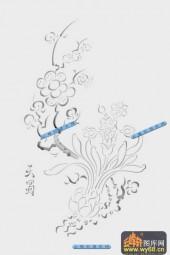 01-天蜀-050-雕刻灰度图