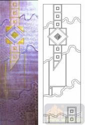 05肌理雕刻系列样图-几何图案-00006-艺术玻璃图库