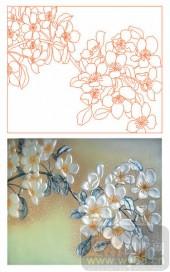 2011设计艺术玻璃刻绘-友谊-装饰玻璃
