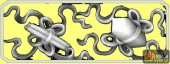 八宝003-暗八仙-4-浮雕灰度图